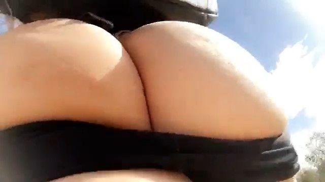 Allison Parker sucking cock