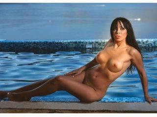 Viki Vukic Nude for Playboy