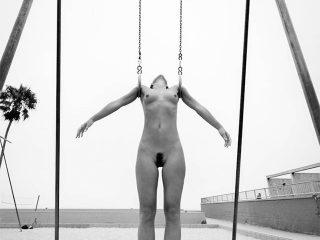 Model Marisa Papen Nude Photo Shoot at Venice Beach