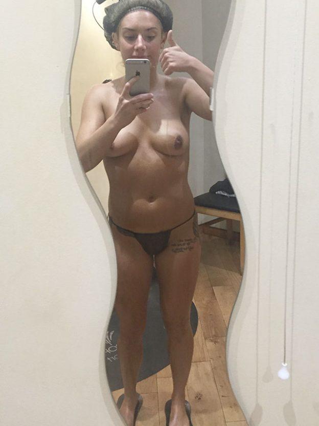 Isabel Hodgins nude selfies leaked