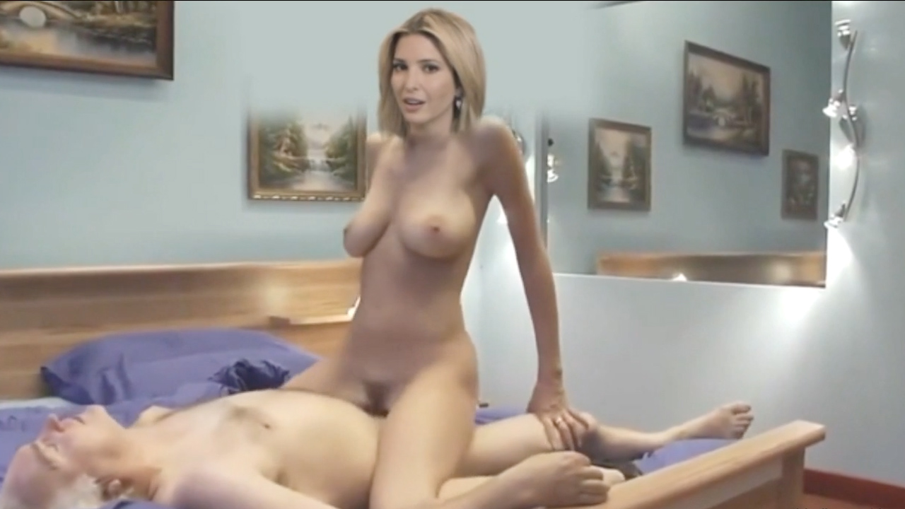 Ivanka Trump leaked sex tape and nude photos The Fappening